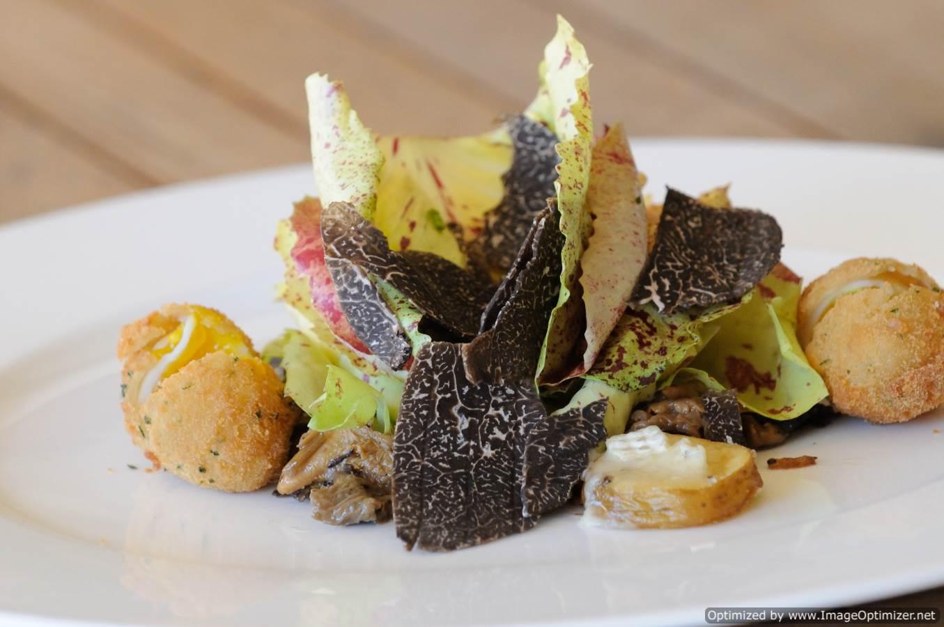 Frisée Salad of Black Truffles - MSL Truffles